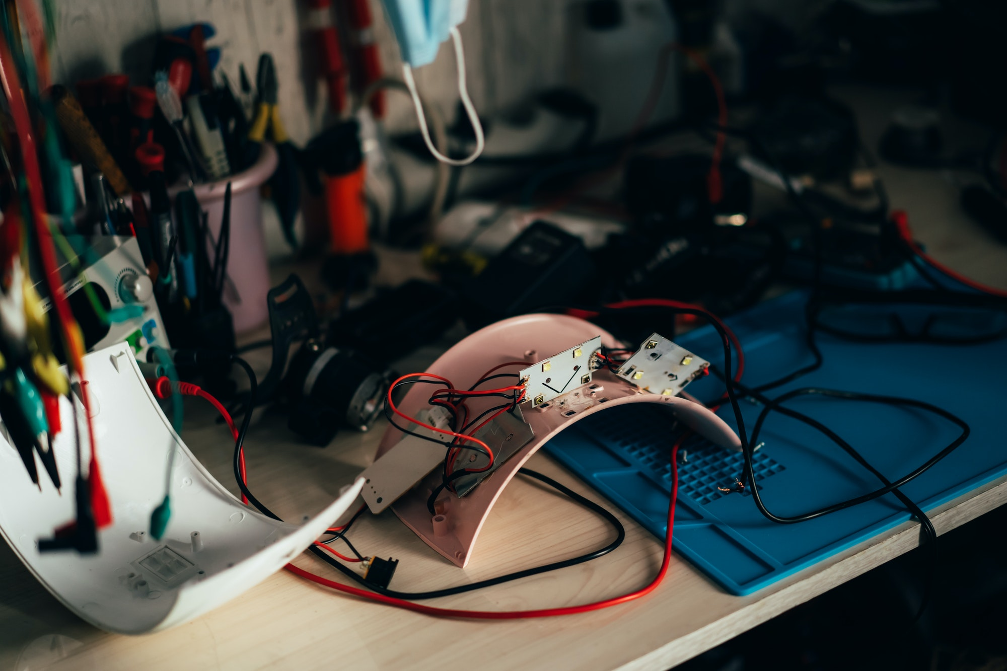Repair of electrical equipment in the service center. Repair of low-quality equipment